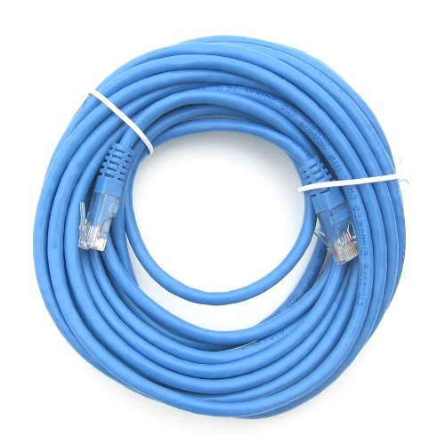 RiteAV - Cat5e Network Ethernet Cable - Blue - 15 ft.
