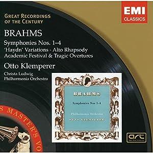 Brahms : Symphonies n° 1 à 4 - Variations sur un thème de Haydn - Ouvertures