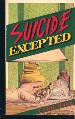 Image for Suicide Excepted (Perennial Library ; P/636)