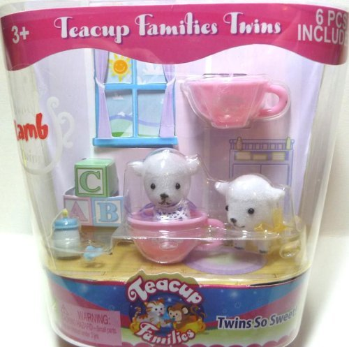 Teacup Families Twins Bounty Lamb Twins