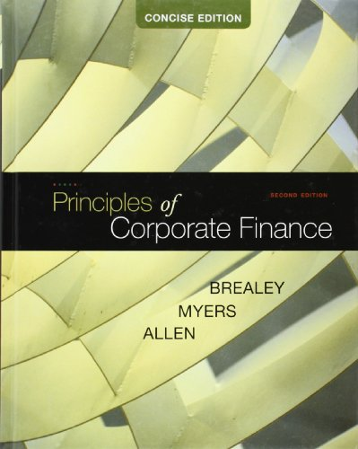 Principles of Corporate Finance, Concise...