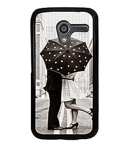 Love Couple 2D Hard Polycarbonate Designer Back Case Cover for Motorola Moto X :: Motorola Moto XT1052 XT1058 XT1053 XT1056 XT1060 XT1055