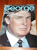 George Magazine Back Issue March 2000 Donald Trump Cover 50 Greatest Moments in Rock / Woodstock, Live Aid, John Lennon