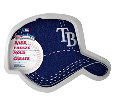 MLB Tampa Bay Rays Fan Cakes Heat Resistant CPET Plastic Cake Pan