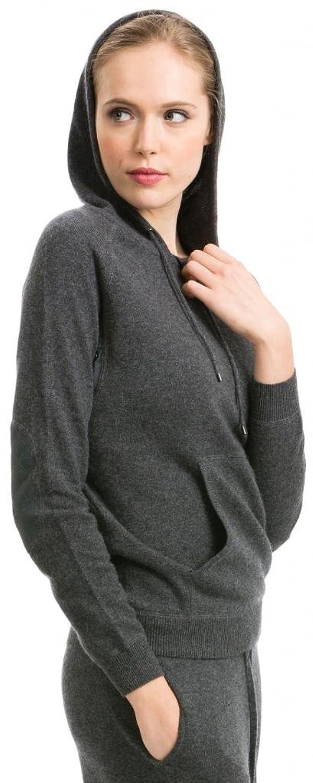Kapuzenpulli Damen (Hoodie) – 100% Kaschmir – Citizen Cashmere (Dunkelgrauer) günstig kaufen