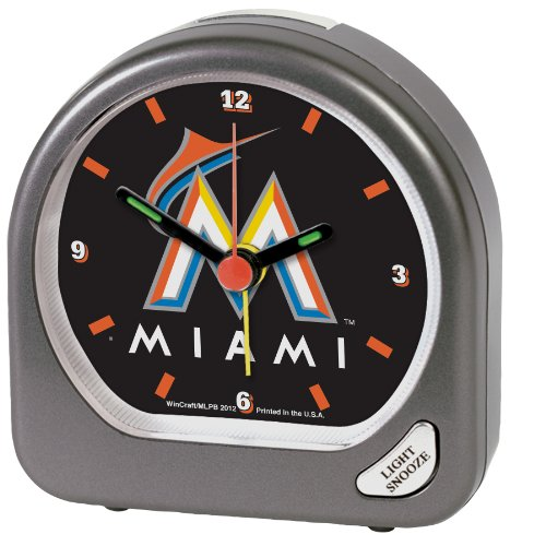 MLB Miami Marlins Alarm Clock