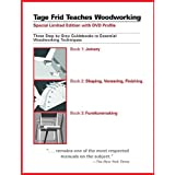 Tage Frid Teaches Woodworking Set: Three Step-By-Step Guidebooks to Essential Woodworking Techniquesby Tage Frid