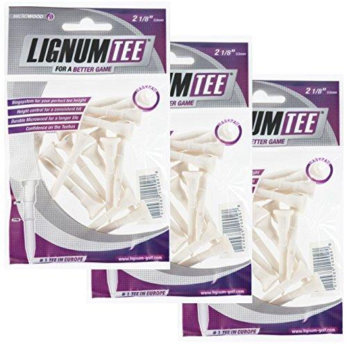 Lignum Tees 3 Beutel á 16 Stück 53mm lang (48 Tees)