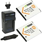 Wasabi Power Battery and Charger Kit for Sony NP-BN1 and Cyber-shot DSC-T99 DSC-T110 DSC-TX5 DSC-TX7 DSC-TX9 DSC-TX10 DSC-TX20 DSC-TX55 DSC-TX66 DSC-TX100V DSC-TX200V DSC-W310 DSC-W320 DSC-W330 DSC-W350 DSC-W360 DSC-W380 DSC-W390 DSC-W510 DSC-W515PS DSC-W520 DSC-W530 DSC-W550 DSC-W560 DSC-W570 DSC-W580 DSC-W610 DSC-W620 DSC-W650 DSC-W690 DSC-WX5 DSC-WX7 DSC-WX9 DSC