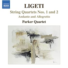 Ligeti, G.: String Quartets Nos. 1 and 2 / Andante and Allegretto