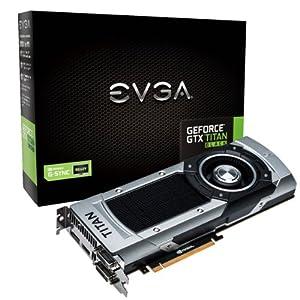 EVGA GeForce GTX TITAN with G-Sync Support 6GB GDDR5 384Bit Graphics Card 06G-P4-3790-KR