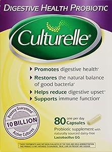 Culturelle Digestive Health Probiotic, 80 Capsules