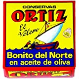 Ortiz White Tuna in Olive Oil 92grams 10 Pack