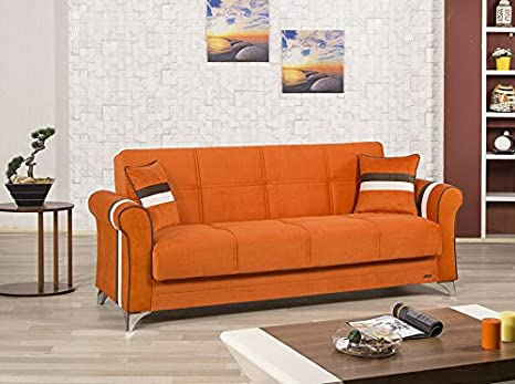 Metro Life Sofa Bed | Sarp Orange