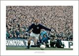 Jimmy Johnstone 1970 Scotland v England Photo Memorabilia