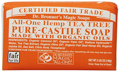 Dr. Bronner'S Magic Soaps All-One Hemp Tea Tree Pure-Castile Soap