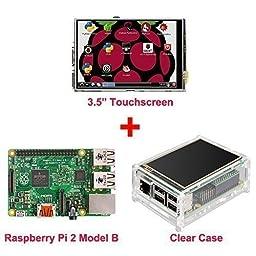 OSOYOO Raspberry Pi 2 board + 3.5\
