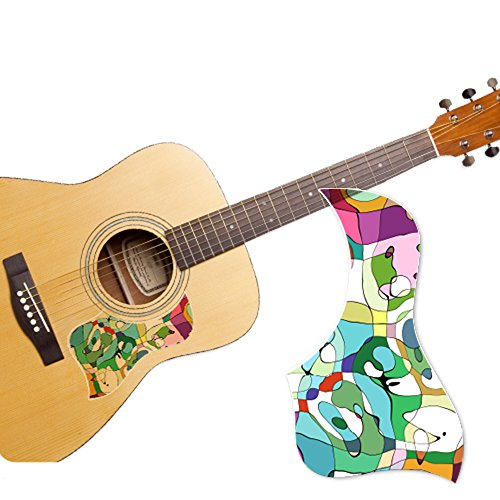 healingshield premium acoustic guitar pickguard style type palette 8809434496623. Black Bedroom Furniture Sets. Home Design Ideas