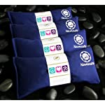 Namaste Yoga Lavender Eye Pillow – Navy – Set of 4