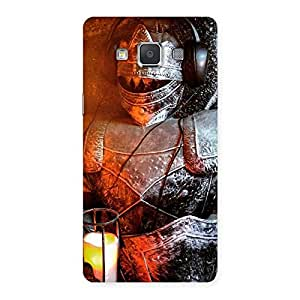 Special Warrior Knight Print Back Case Cover for Galaxy Grand 3