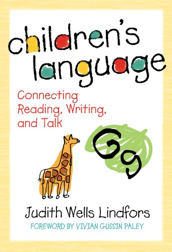 Children'S Language: Connecting Reading, Writing, And Talk (Language And Literacy Series (Teachers College Pr)) front-21457