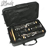 Lindo Silver-Plated Bb Student Clarinet & Case and Maintenance Kit