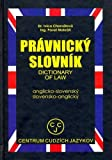 img - for English-Slovak and Slovak-English Dictionary of Law (Edicia Slovniky) book / textbook / text book