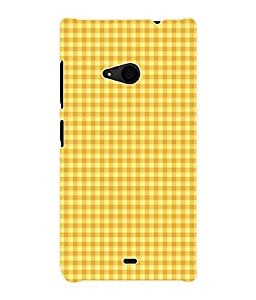 Fuson 3D Printed Pattern Designer Back Case Cover for Microsoft Lumia 535 - D1018