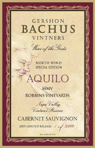 2005 Gershon Bachus Cabernet Sauvignon Mmv Reserve Robbins Vineyard 750 Ml