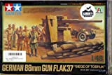 "Tamiya 1/48 German 88mm Gun Flak37 - ""Siege of Tobruk"""