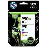 HP 950XL/951XL High Capacity Blister Pack Ink Cartridge - Black/Tri-Colour
