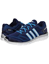 New Adidas Men's ClimaCool Fresh Running Shoes Night Blue/White/Solar Blue