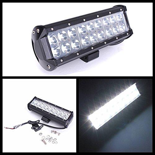 AUDEW 9 Pouce 54W 18 LED Phare Feux de Travail Spot Lampe Projecteur Pour Offroad Camion 4x4