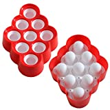 Chichic 9 Cavity Silicone Mini DIY Ice Pop Maker, Popsicle Molds, Ice Cream Maker, Lollipops Molds, Chocolates Molds, Candy Molds for Baby, Kids - BPA Free