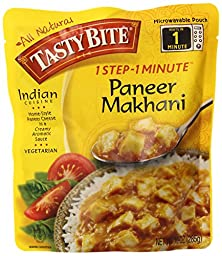 Tasty Bite Indian Entrée, Paneer Makhani, 10 Ounce, 6 Count