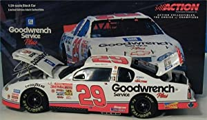 Action Racing Collectables 1:24 Scale Stock Car 2001 Limited Edition #29 Kevin Harwick GM Goodwrench Monte Carlo Nascar Bank at Sears.com
