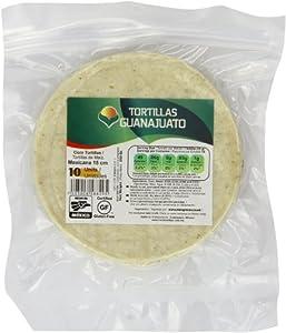 MexGrocer Mexicana Corn White Tortilla 15 cm (Pack of 4)