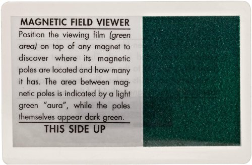 Magnet Source Magnetic Field Viewer Card (Pack of 1)