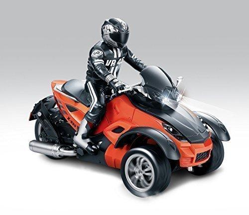 HAK142 MotoHawk 3 Wheeled Motorcycle / ATV - Orange Color