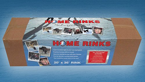 Backyard Rink Kit : Backyard Ice Skating RinkStarter Kit20 X 36