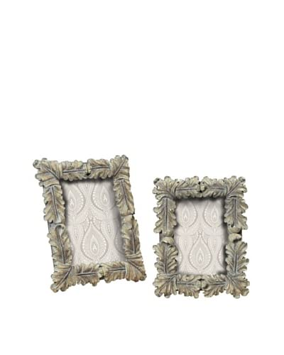 Artistic Pair of Florentine Scroll Picture Frames, Imperial Silver As You See