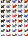 Scottish Terrier Gift Wrapping Paper