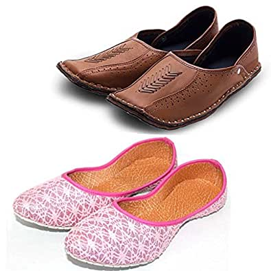 Amazon India Men S Rajasthani Shoes