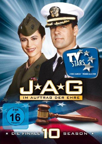 JAG: Im Auftrag der Ehre - Die finale zehnte Season [5 DVDs]