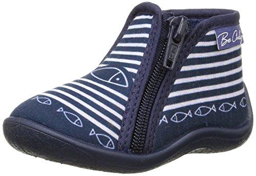 Be OnlyZp Timouss - Bebè camminata caviglia Unisex - Bimbi 0-24 , Blu (Blu (Marine)), 20