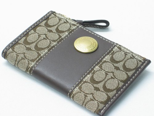 AUTHENTIC COACH ERGO SIGNATURE MINI SKINNY COIN/CARD CASE 40840 (4 color variations) - Buy AUTHENTIC COACH ERGO SIGNATURE MINI SKINNY COIN/CARD CASE 40840 (4 color variations) - Purchase AUTHENTIC COACH ERGO SIGNATURE MINI SKINNY COIN/CARD CASE 40840 (4 color variations) (Coach, Apparel, Departments, Accessories, Wallets, Money & Key Organizers, Billfolds & Wallets)