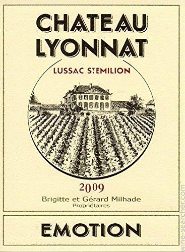 2009 Château Lyonnat, Emotion Bordeaux Red 750 Ml