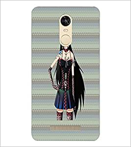 PrintDhaba Sweet Girl D-3083 Back Case Cover for XIAOMI REDMI NOTE 3 PRO (Multi-Coloured)