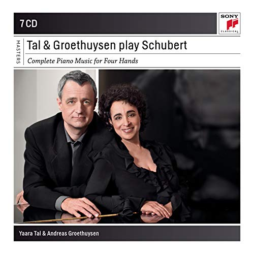 CD : SCHUBERT / TAL / GROETHUYSEN - Complete Piano Music 4 Hands (7 Discos)