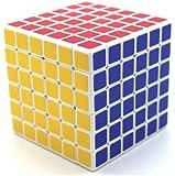 ShengShou 6x6x6 Speed Cube White Professional Speed Cube Twisty Magic Puzzle